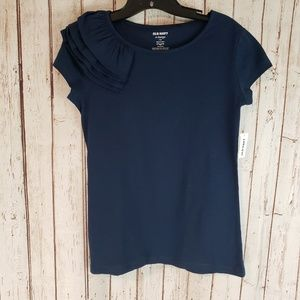 NWT Old Navy Blue tshirt sz XL 14